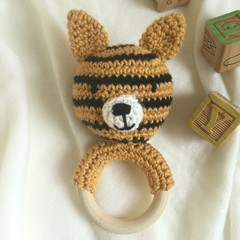 Tiger Teether/Rattle