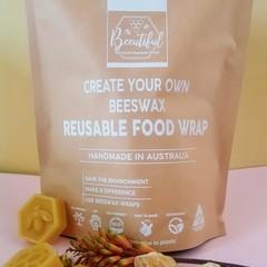 Beeswax Wraps DIY Kit 150g