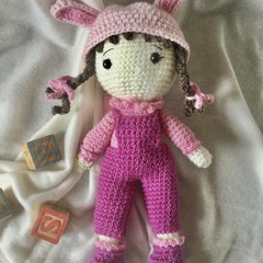Anna Dolly - crocheted toy