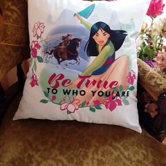 """""""Be True to who you are """" Cushion Cover"""