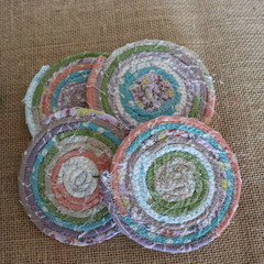 Coasters - Rose Mix four pack