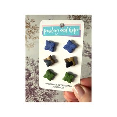 Polymer Clay Stud Pack #2