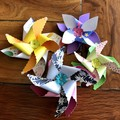 Pinwheel Gift Toppers (6 pack)
