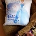 """""""Create your own fairytale """" Cushion Cover"""