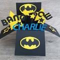 Card In a Box - Batman - Birthday - Personalised