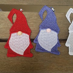 Free Standing Lace Nordic Gnome - 4 colour choices