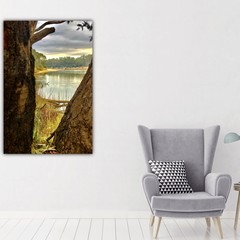 MURRAY RIVER TOCUMWAL NSW CANVAS