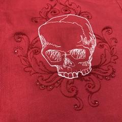 Toile Noir Skull Skirt