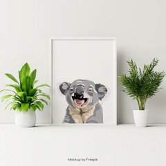 Koala Poster - A3 - Add text for FREE