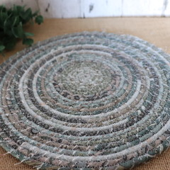Large heat pads- Lynette Anderson Mix ( Muted Duck Egg Blue)