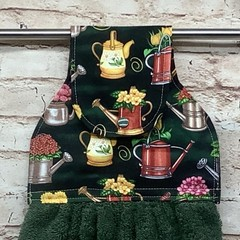 Watering Cans Hanging Hand Towel