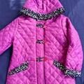 Quilted Duffle Coat Size 8