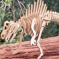 Build and Paint your own (T) Rex Dinosaur Press Out & Build -Tyrannosaurus -30 c