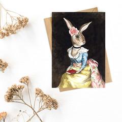 Greeting Card 'Lady Viola'