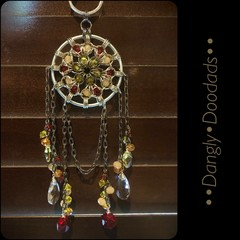 Drippy Chainmaille & Glass Suncatchers (3x available)