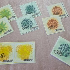 """""""Hello"""" Cards Samples"""