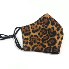 Face Mask 3 Layers - reusable  *Animal Print* washable Australia made