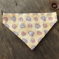 Small Double Sided Bandanna cat or dog