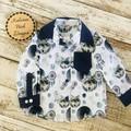 Western Style Long Sleeve Shirt Size 1