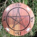 Carved Hardwood Pendulum Board
