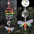 Springy Spiral Dragonfly Suncatchers (5x available)