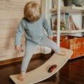 Balance Board for Yoga, Pilates, strength training kids, adults-Natural handmade