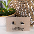 Triangle Upcycled Studs