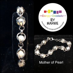 Chainmaille & Stone Bracelets - various stones