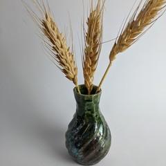 Raku mini delight vase