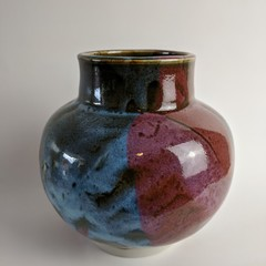 Cheery Ceramic Vase