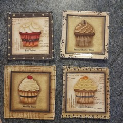 Cupcake Coasters