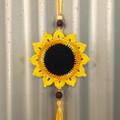 Crochet Hanging Sunflower