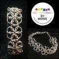 Stainless Steel Daisy Chain Bracelet