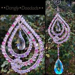 Pink & Purple Swirl Suncatcher