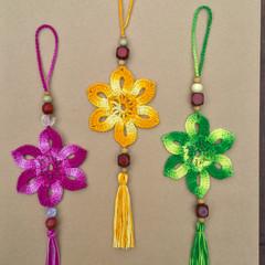 Crochet Flower Decoration