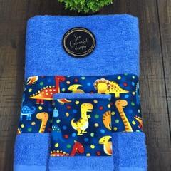 Baby & Children's bath towel & matching face washer set