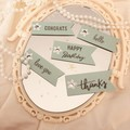 Mothers Day gift tags - Mint