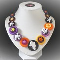Halloween necklace - Just Spooky!