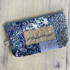 Lilly Blue Liberty Pouch