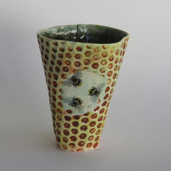 Save The Bees Vase