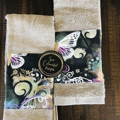 Custom made hand towel pack x 2