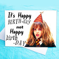 Hermione, Harry Potter Funny Birthday Card