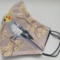AUSTRALIAN BIRDS Facemask COCKATIELS