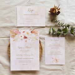 Whitehaven   Printed Wedding Invitation Set