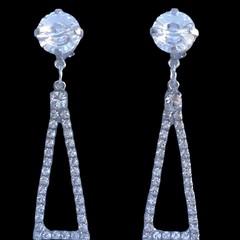 Clip on Queen Bridal Collection - Isosceles