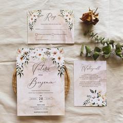 Paros | Printed Wedding Invitation Set