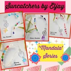 Beaded Suncatchers - 'Mandala' Series