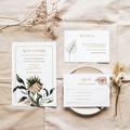 Panama | Printed Wedding Invitation Set