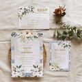 Santorini | Printed Wedding Invitation Set