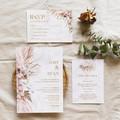 Barbados | Printed Wedding Invitation Set